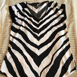 Express Zebra Stripe Blouse
